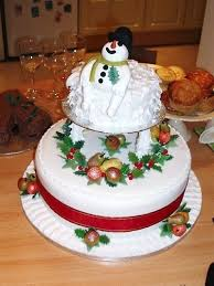 55 best christmas cake decorations images on pinterest christmas