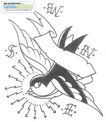 only swallow tattoo swallow bird tattoos designs