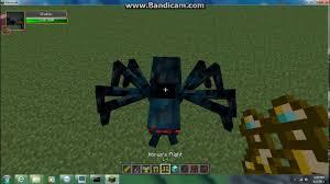 minecraft mob battles fashoinable walker king vs spider queen
