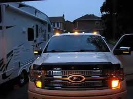 ford f250 cab lights kit led cab lights f150 with led flasher youtube