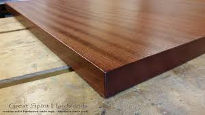 staining a table top custom solid hardwood table tops live edge slabs