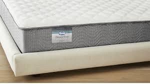 simmons beautysleep karlena firm king mattress cb2