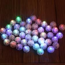 discount round led flash ball lamps balloon lights for paper