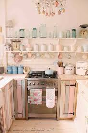 shabby chic kitchen ideas the villa on mount pleasant kitchen update pinteres