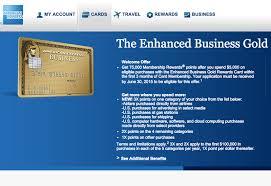 American Express Business Card Application 75k Amex Business Gold Rewards Card Bonus Offer Targeted