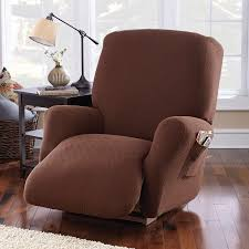 slipcover for recliner chair mainstays 4 stretch fabric recliner slipcover walmart com