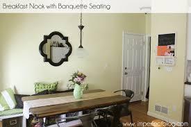 Breakfast Nook Ideas Gorgeous Breakfast Nook Banquette Seating 7 Kitchen Nook Booth