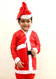 buy online set of 5 christmas santa claus costume in india price