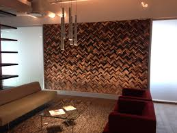 excellent reclaimed wood feature wall 70 on best design ideas with