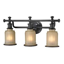 Light Fixtures For Bathroom by Shop Westmore Lighting Nicolette 3 Light 10 In Oil Rubbed Bronze
