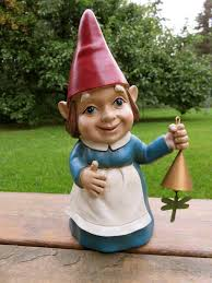 Garden Nome by Lady Garden Gnome Female U2013 Johnnyappleseedhomeandyard