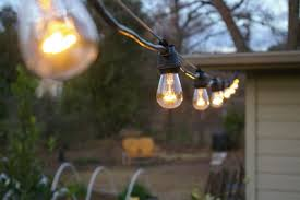 Hanging Patio Lights String The Grackle Garden New String Lights