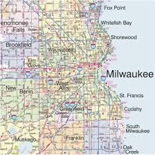 wisconsin map themapstore southeastern wisconsin highway wall map