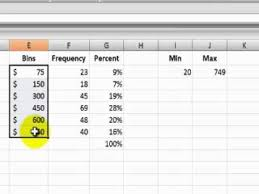 create a report as a table in excel two ways to create a frequency distribution report in excel youtube