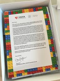 touch community services 25th anniversary limited edition lego set