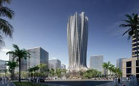 architecture plans zaha hadid architects reveals plans for qatari skyscraper
