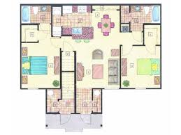 2 Bedroom Condo Floor Plan Floorplans Nautilus Cove Concord Rents Concord Management