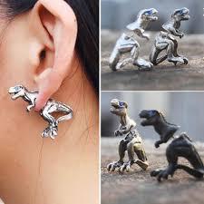 t rex earrings rex faux earrings