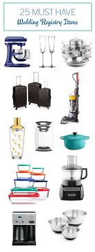 items for a wedding registry 25 must wedding registry items every last detail