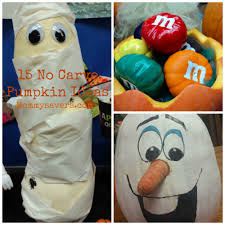 Pumpkin Decorating Without Carving 40 Cool No Carve Pumpkin Decorating Ideas Hative 150 Halloween