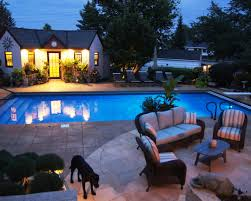 Pool Patio Pictures by Mediterranean Pool U0026 Fireplace Ground One