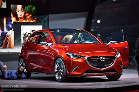 mazda new 2 mazda hazumi previews new 2 demio supermini in geneva live