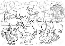 free farm animal coloring pages contegri com