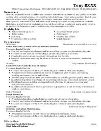 Lowes Resume Example by Professional Lowes Sales Specialist Templates To Showcase