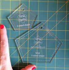 5 sided acrylic templates for made fabric u2013 victoria findlay wolfe