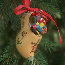ornaments shoe ornaments wooden shoe