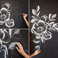 Designing A Wall Mural How To Create A Gorgeous Chalk Mural Like An Instagram Pro