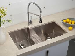 Kitchen How To Install A Kitchen Sink In Double Bowl Design - Kitchen sink design ideas