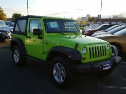 jeep rubicon green green jeep wrangler for sale carmax