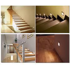 led stair lights motion sensor 2pcs lot indoor pir motion sensor led stair light infrared human