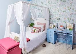 outstanding wallpaper for little girls bedroom with blue crown