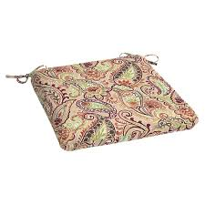 Outdoor Bistro Chair Cushions Square Paisley Hton Bay Outdoor Cushions Patio Furniture The