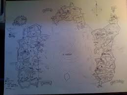 World Of Warcraft Maps by Found My Hand Drawn Map Of Azeroth World Of Warcraft From A Few