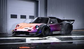 future ferrari ferrari dino future tuning nacreous color rendering by khyzyl
