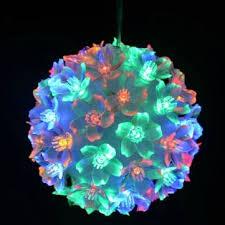 l bouquet circle petals led lights for