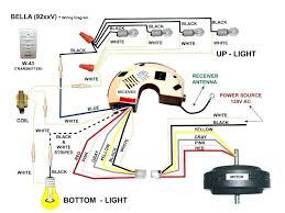 how to wire a ceiling fan with remote wall switch wiring diagram