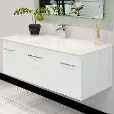 wall mounted sink cabinet alaska 1200 wall mount vanity allure bathrooms