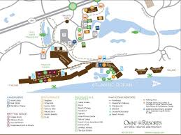 Florida Area Codes Map by Hotel Amelia Island Fl Omni Plantation Resort Map