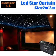 fireproof 2m 3m light curtain led curtain 90v 240v rgbw color