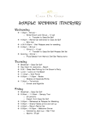 sample wedding itinerary 43147475 791x1024 wedding invitation