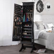Where To Buy A Jewelry Armoire Home Decorators Collection Black Jewelry Armoire 5026510210 The