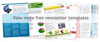templates for word newsletters newsletter template word free word templates free ricdesign ideas