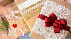 diy christmas gift wrapping ideas how to make a bow youtube loversiq