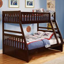 Floor Level Bed Bedroom New Design Bedroom Blue Brown Wooden Bunk Bed Drawers