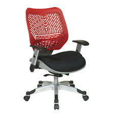 space seating space seating revv red spaceflex self adjusting manager office chair