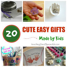 20 easy gifts made by